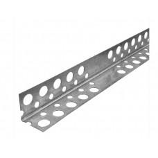Профиль угловой перфорированный оцинкованный 25х25 (3м)